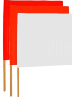 Airfield Barricade Flags