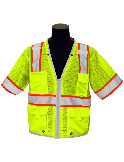 5-Point Breakaway Class 3 Safety Vest
