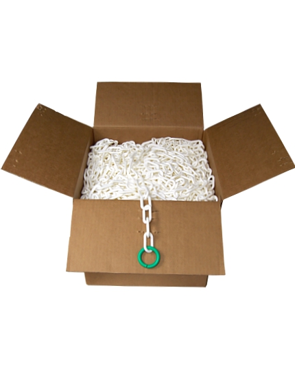 "500' Box of Plastic Chain (2"" Links)"