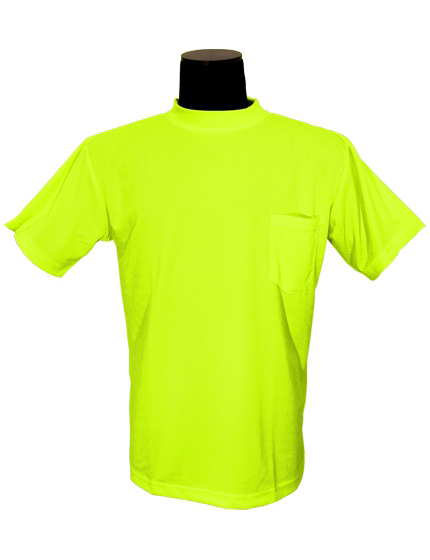 Customizable Microfiber High Visibility Shirt